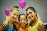 Giorgia, Nicole e Martina